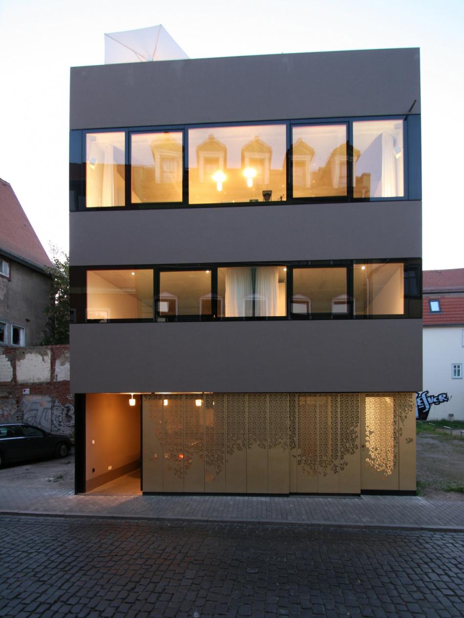 Fassade frontal  News - Architektenkammer Thüringen