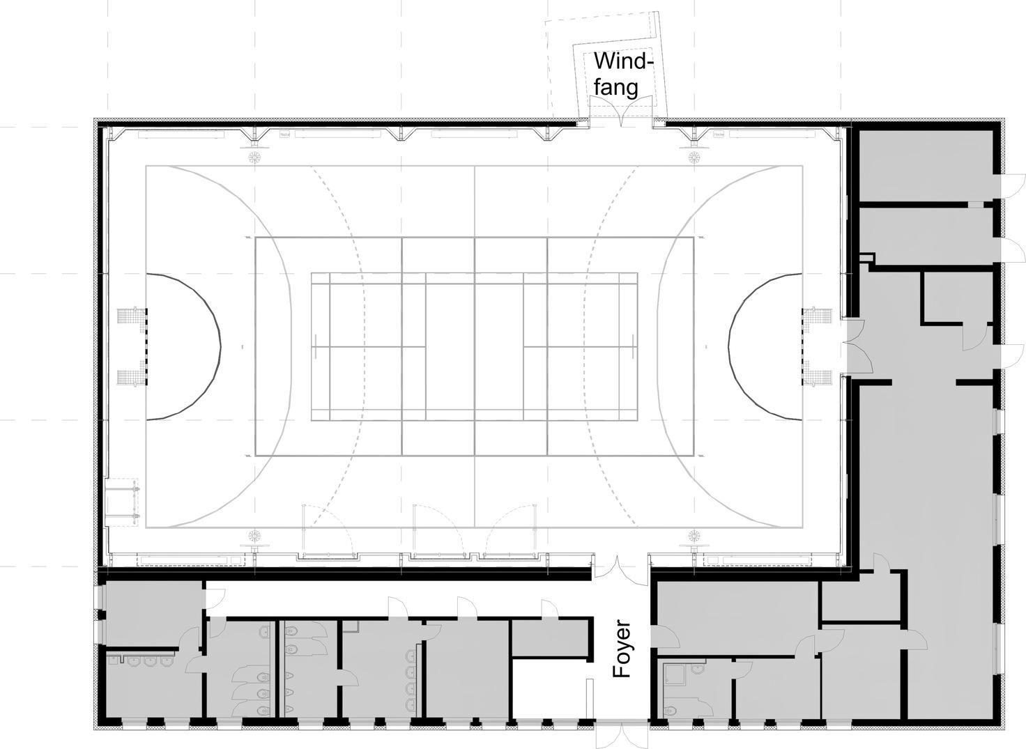 sanierung der sporthalle urbich erfurt architekturf hrer th ringen. Black Bedroom Furniture Sets. Home Design Ideas