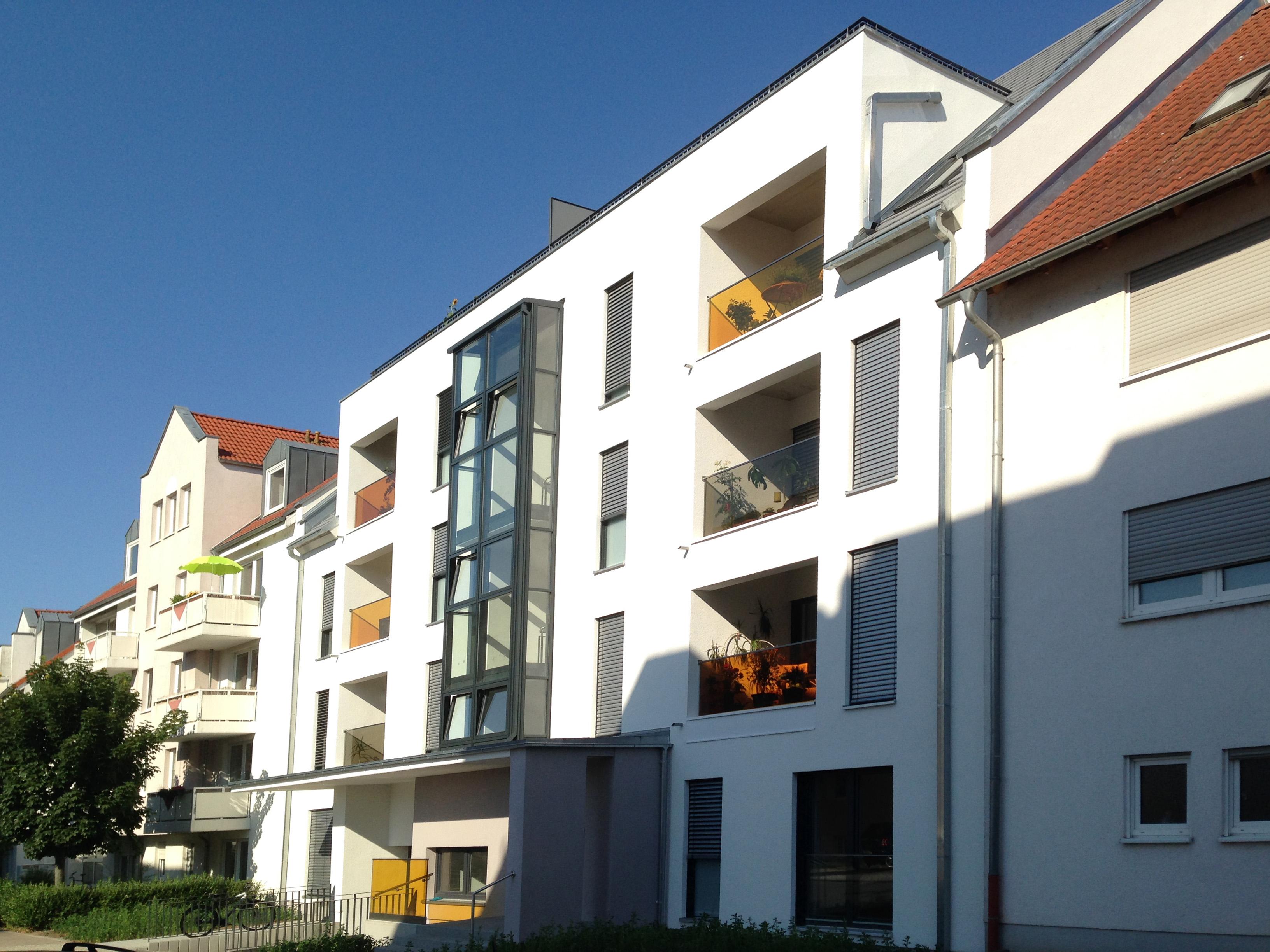 l ckenbebauung mehrfamilienhaus kfw 70 in jena architekturf hrer th ringen. Black Bedroom Furniture Sets. Home Design Ideas
