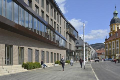 Umbau und sanierung mehrfamilienwohnhaus in r mhild architekturf hrer th ringen - Architekturburo weimar ...