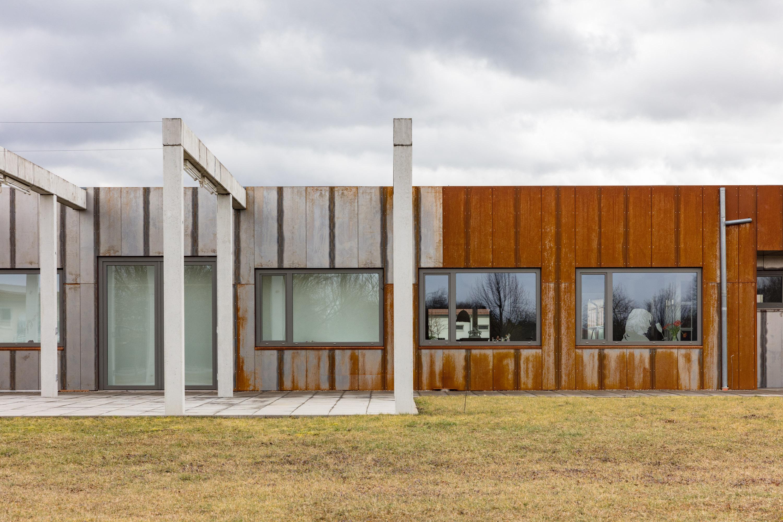 Hille Architekten wohn und galeriehaus alte straßenmeisterei sömmerda
