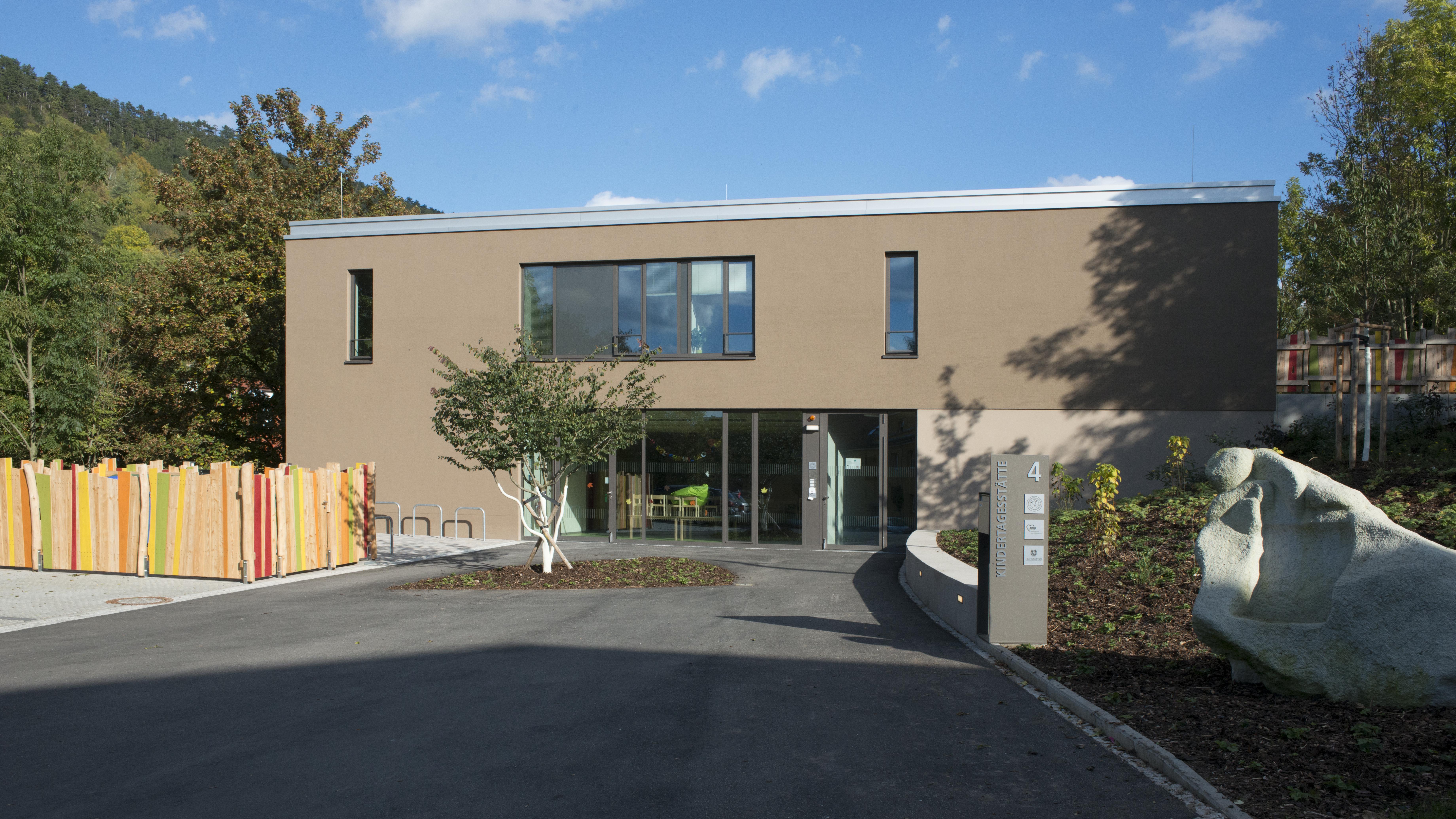 Architekten Jena kitaz neubau einer kindertagesstätte im ziegenhainer tal jena