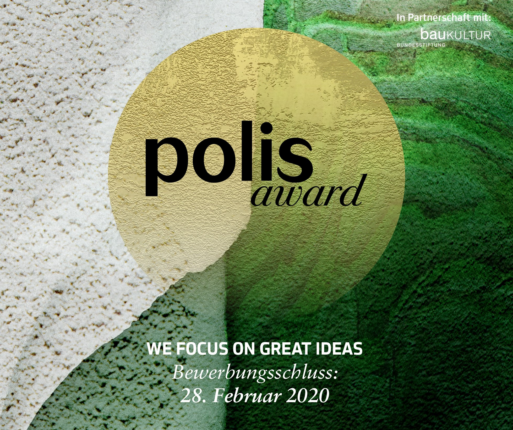 polis AWARD für Urban Development
